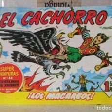 BDs: EL CACHORRO Nº 205 - LOS MACAREOS (G. IRANZO) FACSIMIL 1983. Lote 241479760