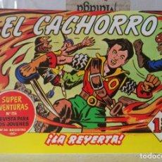 BDs: EL CACHORRO Nº 199 - LA REYERTA (G. IRANZO) FACSIMIL 1983. Lote 241480125