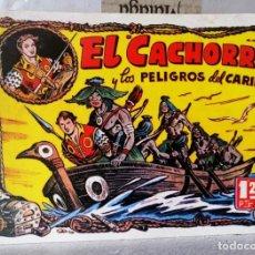 BDs: EL CACHORRO Nº 12 Y LOS PELIGROS DEL CARIBE (G. IRANZO) FACSIMIL 1983. Lote 241492100