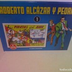 Tebeos: LIBRO DE COMICS DEL INTREPIDO AVENTURERO ESPAÑOL POSTGUERRA AÑOS 40´S REEDICIÓN FACSIMIL. Lote 242363955