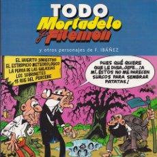 Tebeos: TODO MORTADELO Y FILEMÓN, Y OTROS PERSONAJES DE IBAÑEZ - Nº 31 - EDICIONES B 2005. Lote 242475555