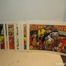 Livros de Banda Desenhada: EL CABALLERO FANTASMA - REEDICIÓN DE 11 NÚMEROS - 1 A 11 IMPECABLES. Lote 244358735