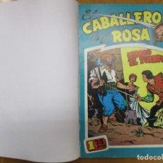 Tebeos: COLECCION COMPLETA EL CABALLERO DE LA ROSA - TOMO - 7 NUMEROS - REEDICION. Lote 244643585