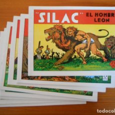 Livros de Banda Desenhada: SILAC EL HOMBRE LEON COMPLETA - 8 NUMEROS - REEDICION (BV). Lote 247110175