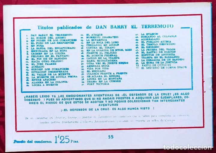Tebeos: Dan Barry . El Terremoto - La banda de los lagartos - J. Ortiz - - Foto 2 - 251036040