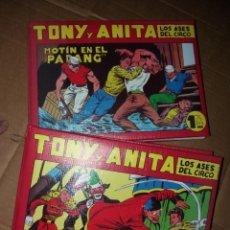 Tebeos: PAREJA DE TOMOS (TONI Y ANITA) REEDICIÓN. Lote 252707960