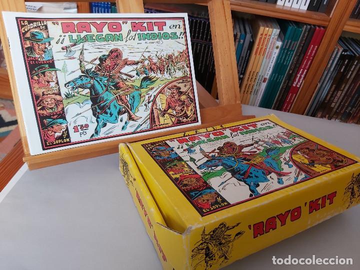 * RAYO KIT * COMPLETA 24 NUMEROS * REEDICION EN CAJA * (Tebeos y Comics - Tebeos Reediciones)