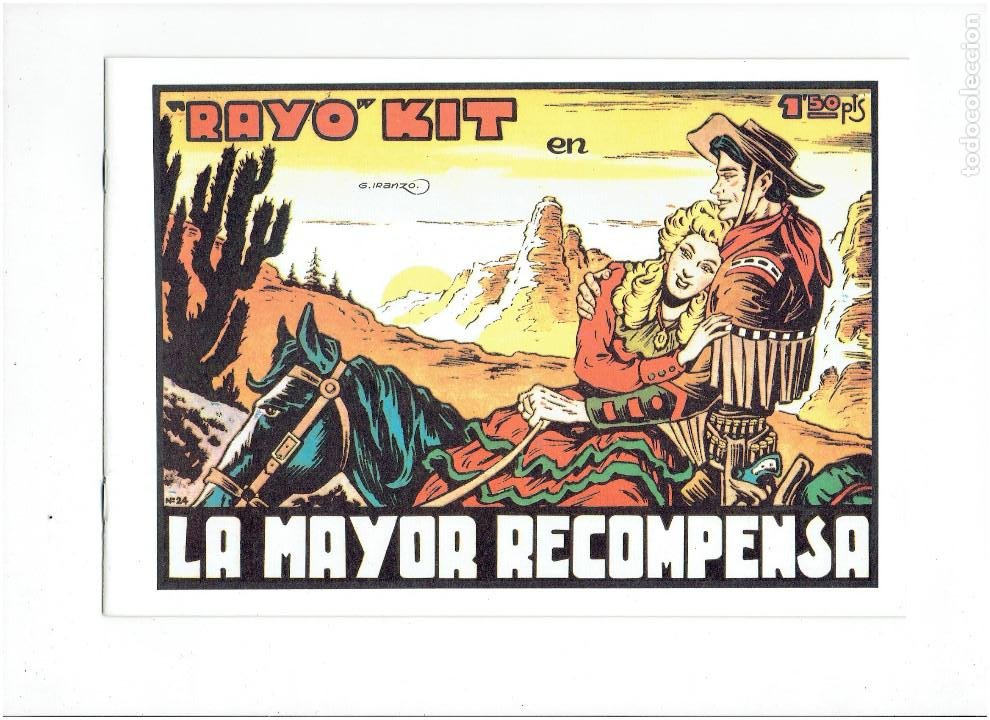 Tebeos: * RAYO KIT * COMPLETA 24 NUMEROS * REEDICION EN CAJA * - Foto 10 - 254013510