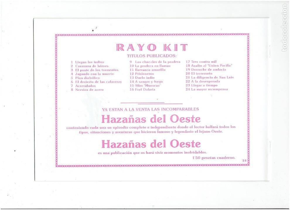 Tebeos: * RAYO KIT * COMPLETA 24 NUMEROS * REEDICION EN CAJA * - Foto 11 - 254013510