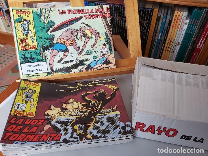 * RAYO DE LA SELVA * COMPLETA 83 NUMEROS * REEDICION EN CAJA * (Tebeos y Comics - Tebeos Reediciones)