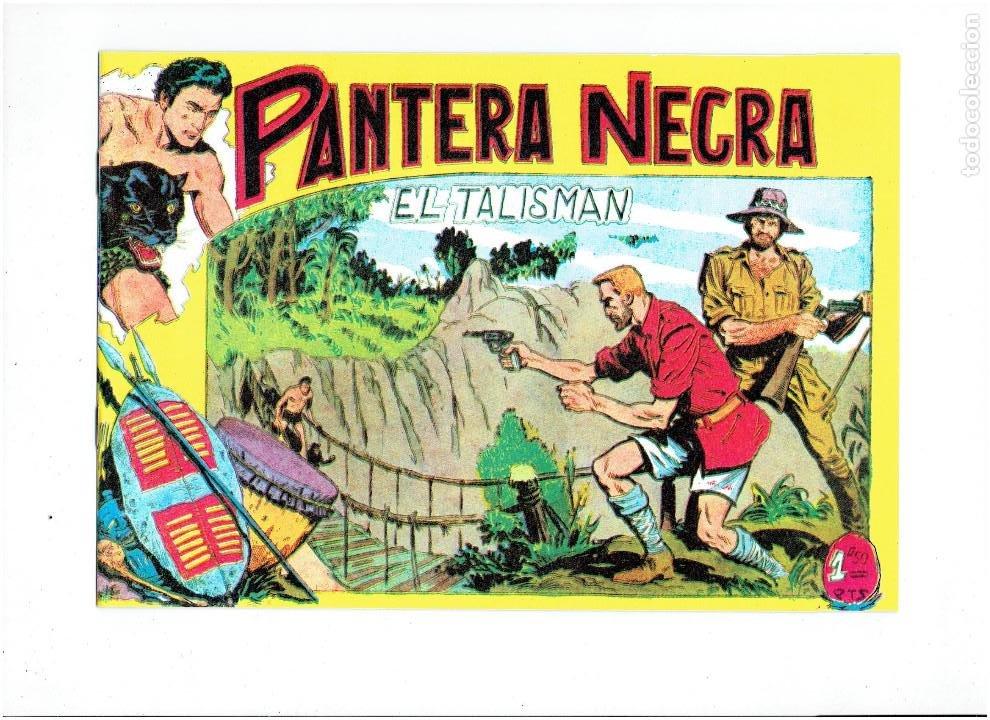 Tebeos: * PANTERA NEGRA * COMPLETA 54 NUMEROS * REEDICION EN CAJA * - Foto 8 - 254030620