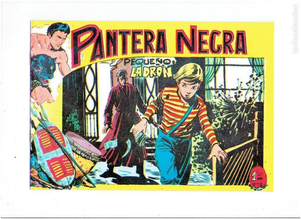 Tebeos: * PANTERA NEGRA * COMPLETA 54 NUMEROS * REEDICION EN CAJA * - Foto 9 - 254030620