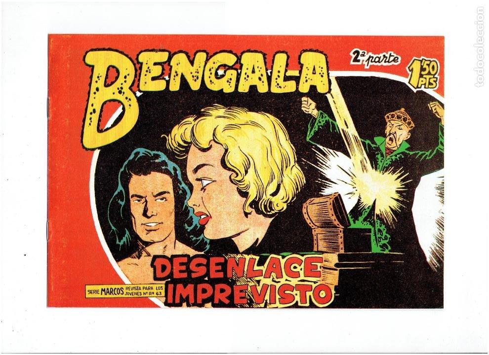 Tebeos: * BENGALA 2ª SERIE * COMPLETA 45 NUMEROS * REEDICION IMPECABLE * - Foto 9 - 254039160