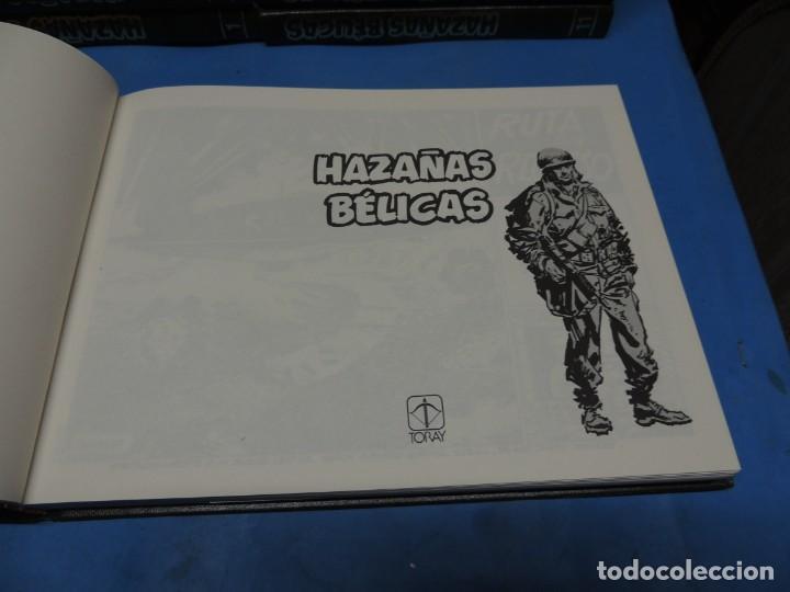 Tebeos: HAZAÑAS BÉLICAS. EDICIÓN COLECCIONISTA .18 TOMOS COMPLETA - Foto 3 - 254081465