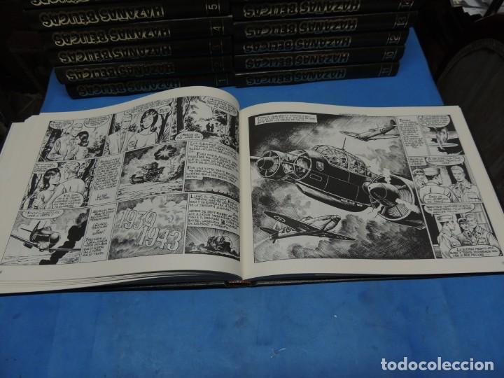 Tebeos: HAZAÑAS BÉLICAS. EDICIÓN COLECCIONISTA .18 TOMOS COMPLETA - Foto 6 - 254081465