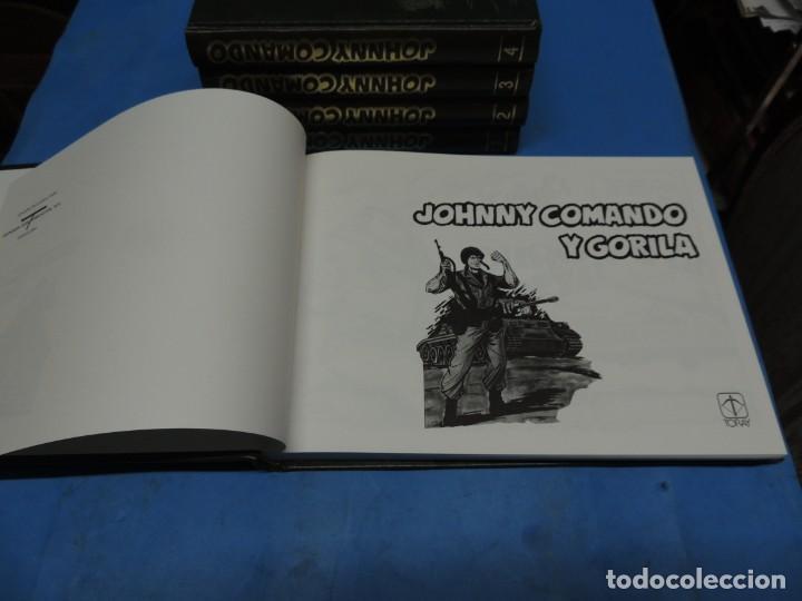 Tebeos: JOHNNY COMANDO Y GORILA. EDICIÓN COLECCIONISTA . 5 TOMOS COMPLETA - Foto 3 - 254085255
