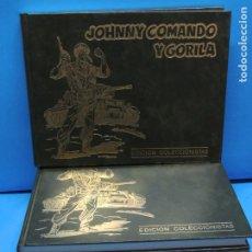 Tebeos: JOHNNY COMANDO Y GORILA. EDICIÓN COLECCIONISTA . 5 TOMOS COMPLETA. Lote 254085255