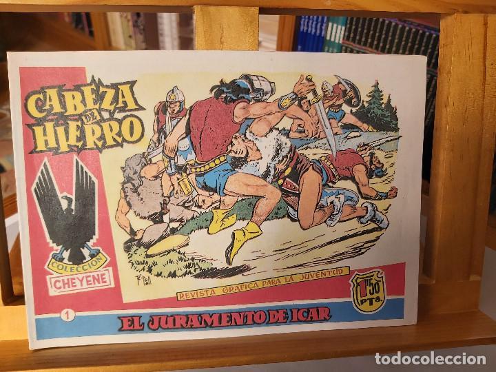 * CABEZA DE HIERRO * COMPLETA 13 NUMEROS * REEDICION IMPECABLE * (Tebeos y Comics - Tebeos Reediciones)