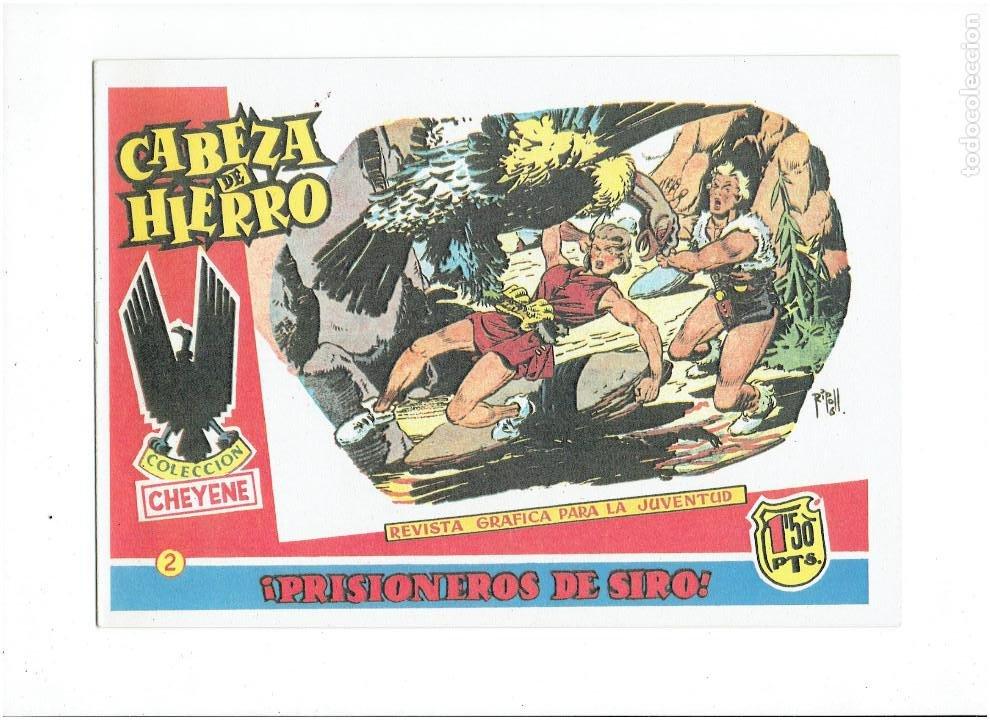 Tebeos: * CABEZA DE HIERRO * COMPLETA 13 NUMEROS * REEDICION IMPECABLE * - Foto 4 - 254088365