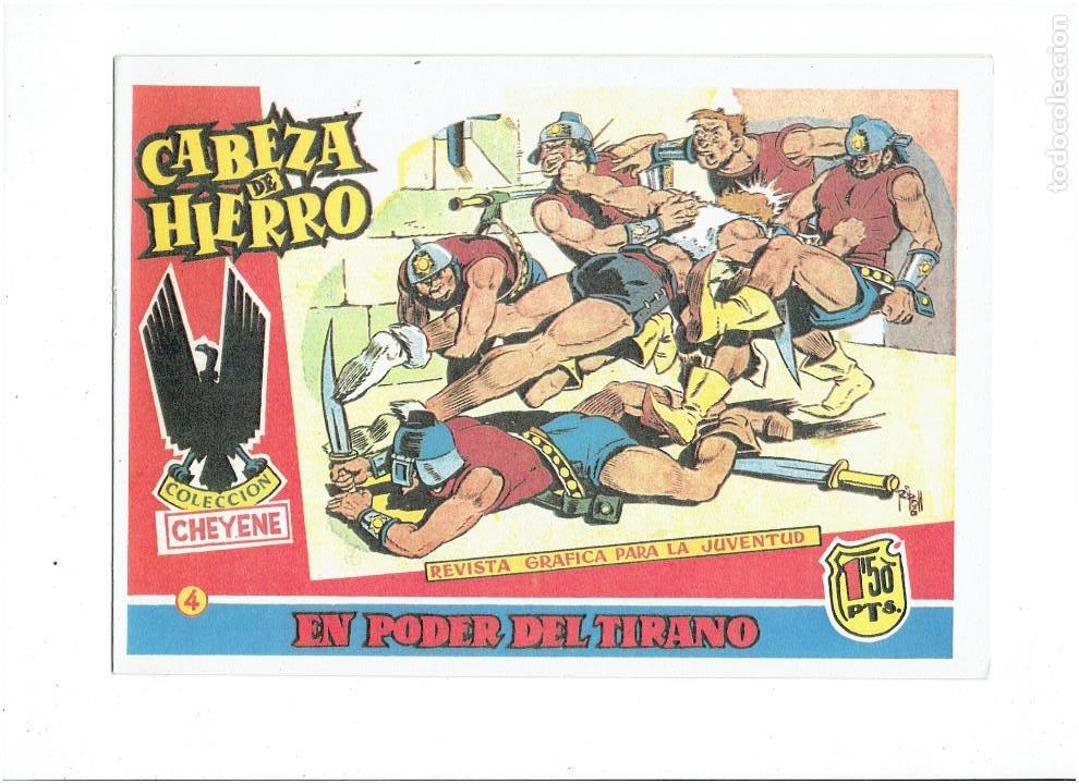 Tebeos: * CABEZA DE HIERRO * COMPLETA 13 NUMEROS * REEDICION IMPECABLE * - Foto 6 - 254088365