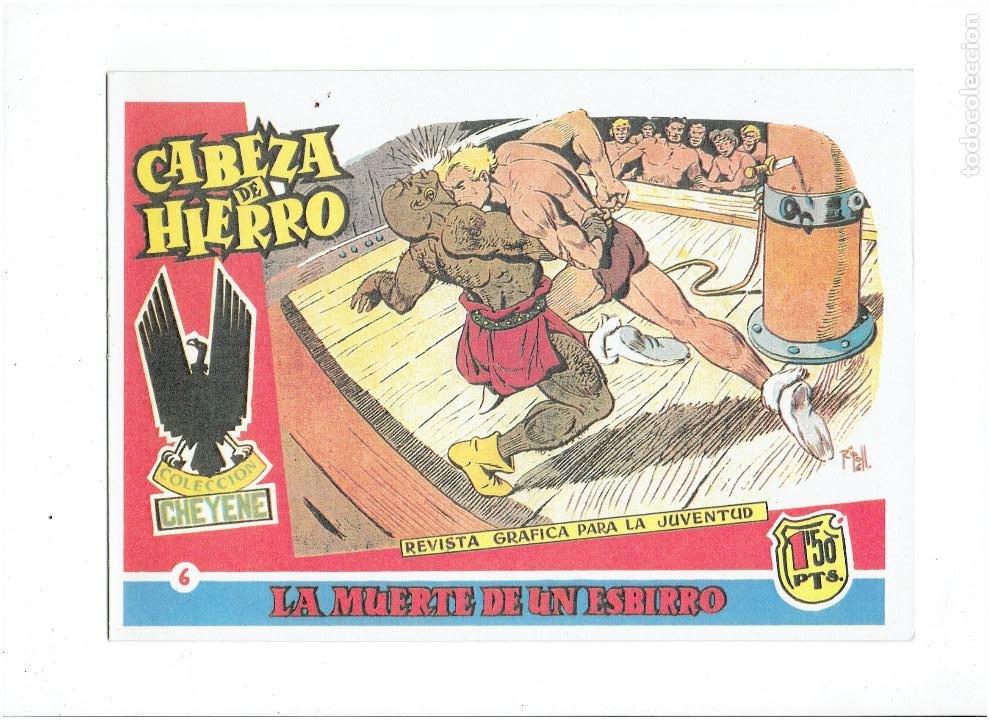 Tebeos: * CABEZA DE HIERRO * COMPLETA 13 NUMEROS * REEDICION IMPECABLE * - Foto 8 - 254088365