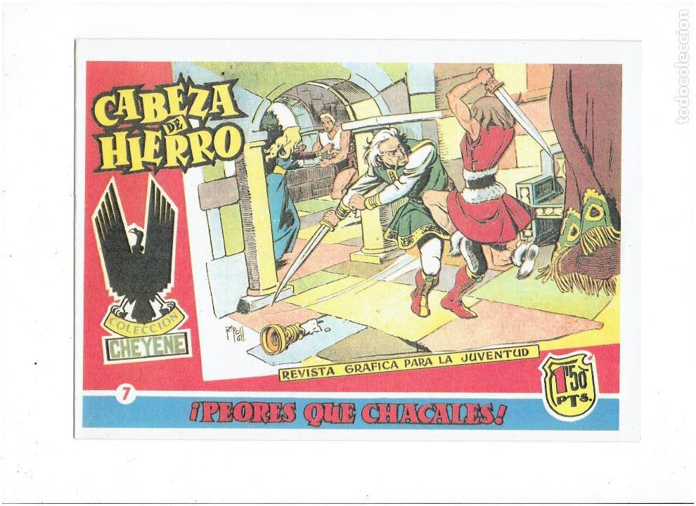 Tebeos: * CABEZA DE HIERRO * COMPLETA 13 NUMEROS * REEDICION IMPECABLE * - Foto 9 - 254088365