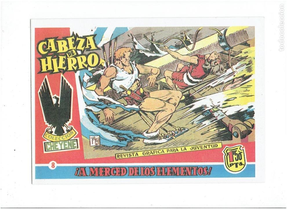 Tebeos: * CABEZA DE HIERRO * COMPLETA 13 NUMEROS * REEDICION IMPECABLE * - Foto 10 - 254088365