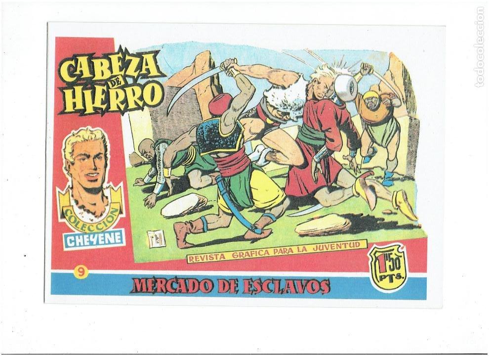 Tebeos: * CABEZA DE HIERRO * COMPLETA 13 NUMEROS * REEDICION IMPECABLE * - Foto 11 - 254088365