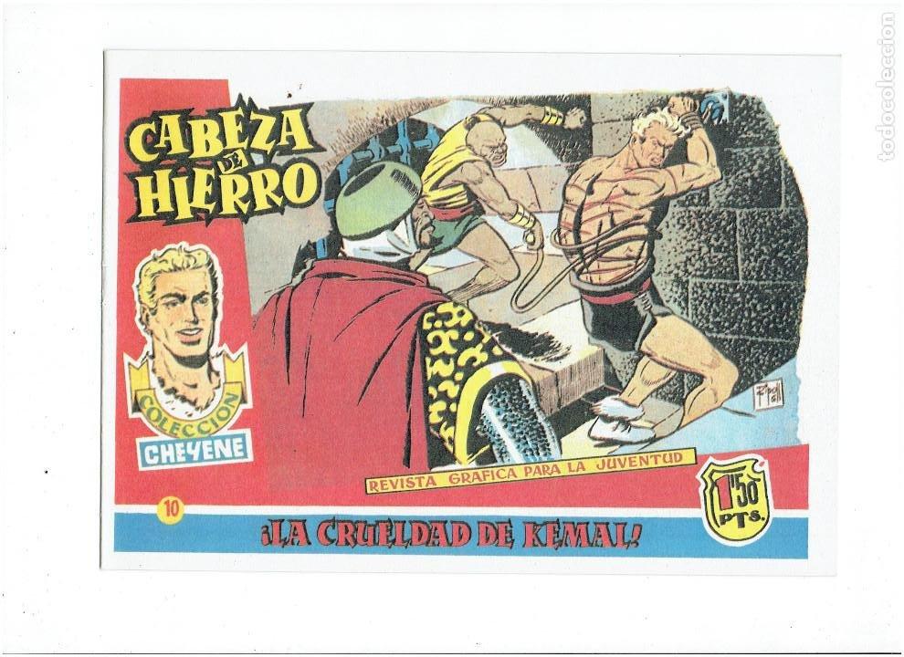 Tebeos: * CABEZA DE HIERRO * COMPLETA 13 NUMEROS * REEDICION IMPECABLE * - Foto 12 - 254088365