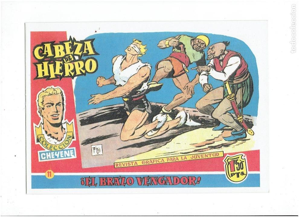 Tebeos: * CABEZA DE HIERRO * COMPLETA 13 NUMEROS * REEDICION IMPECABLE * - Foto 13 - 254088365