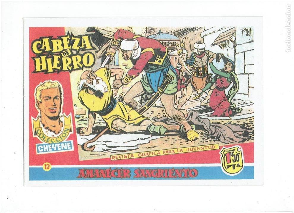 Tebeos: * CABEZA DE HIERRO * COMPLETA 13 NUMEROS * REEDICION IMPECABLE * - Foto 14 - 254088365