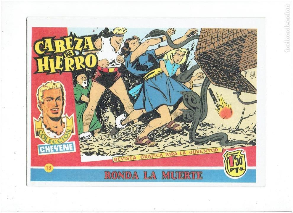 Tebeos: * CABEZA DE HIERRO * COMPLETA 13 NUMEROS * REEDICION IMPECABLE * - Foto 15 - 254088365