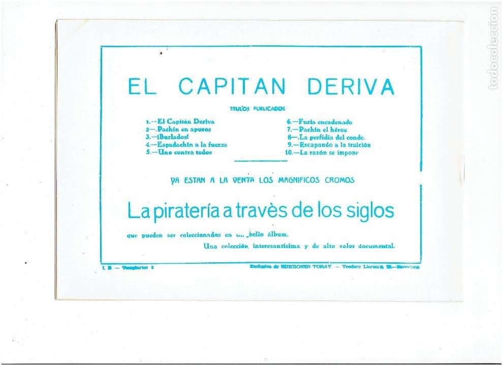 Tebeos: * EL CAPITAN DERIVA * COMPLETA 10 NUMEROS * REEDICION IMPECABLE * - Foto 13 - 254176670