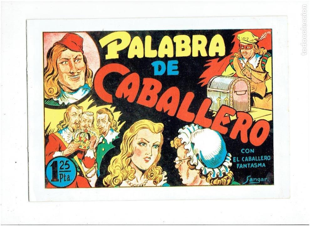 Tebeos: * EL CABALLERO FANTASMA * COMPLETA 11 NUMEROS * REEDICION IMPECABLE * - Foto 5 - 254180395