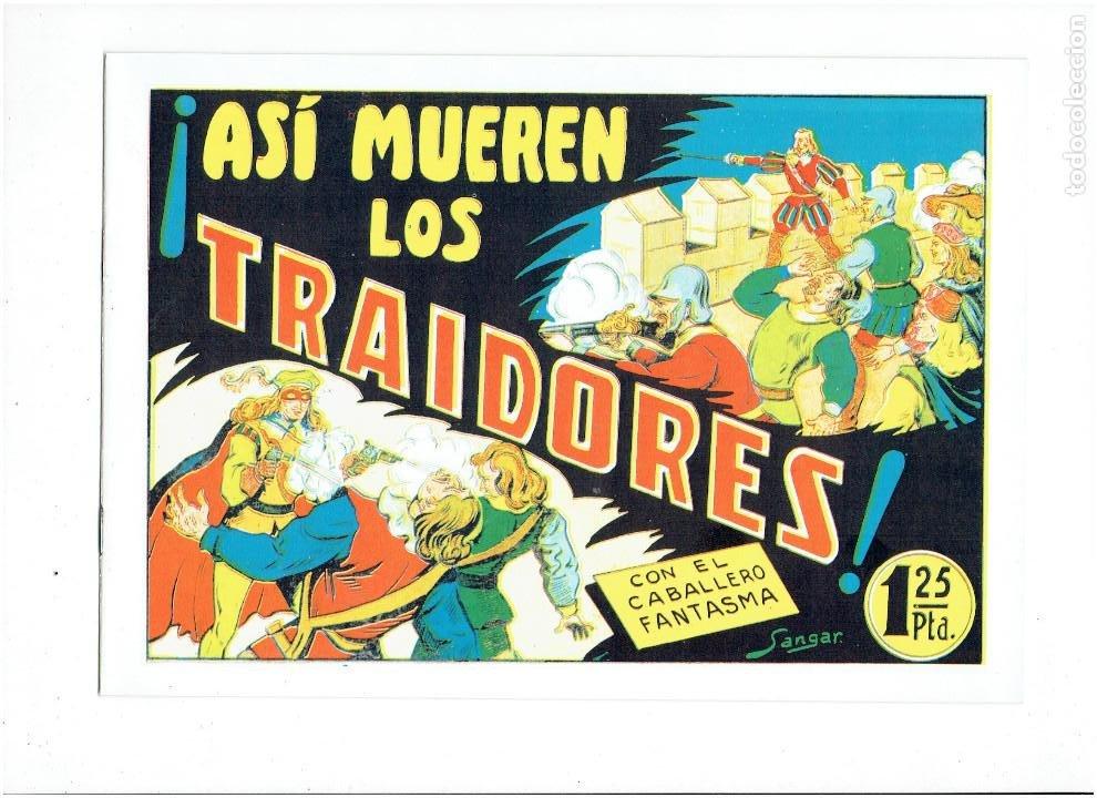 Tebeos: * EL CABALLERO FANTASMA * COMPLETA 11 NUMEROS * REEDICION IMPECABLE * - Foto 10 - 254180395