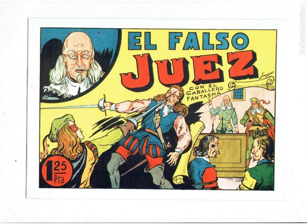 Tebeos: * EL CABALLERO FANTASMA * COMPLETA 11 NUMEROS * REEDICION IMPECABLE * - Foto 11 - 254180395