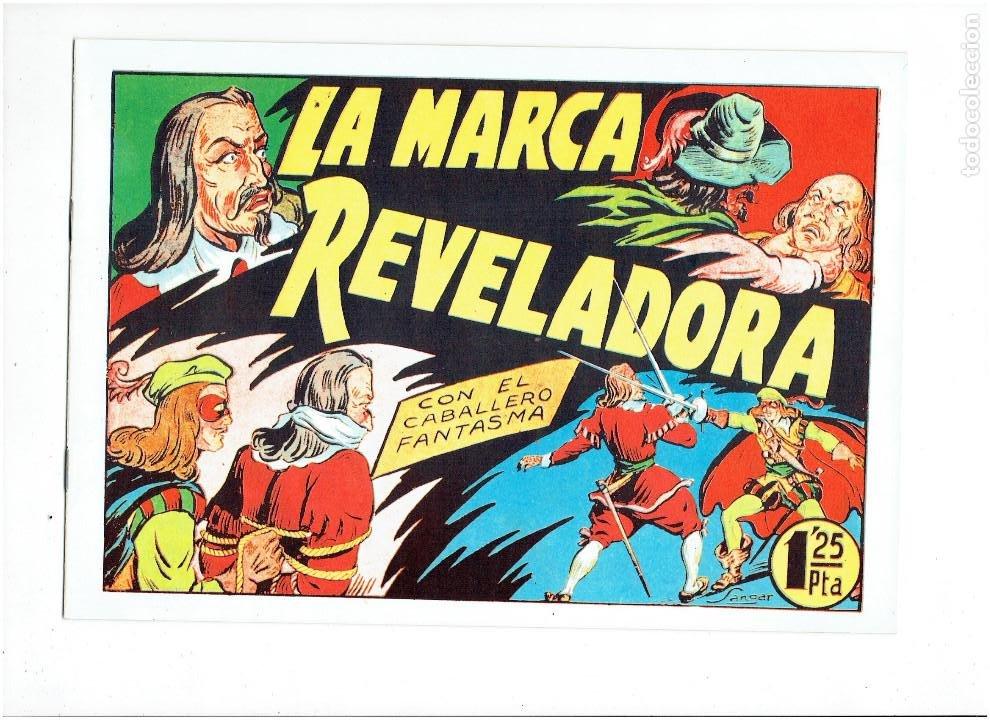 Tebeos: * EL CABALLERO FANTASMA * COMPLETA 11 NUMEROS * REEDICION IMPECABLE * - Foto 14 - 254180395
