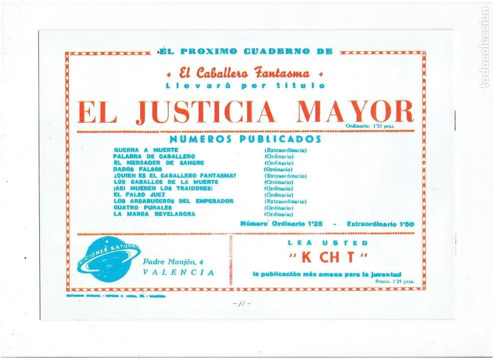 Tebeos: * EL CABALLERO FANTASMA * COMPLETA 11 NUMEROS * REEDICION IMPECABLE * - Foto 15 - 254180395