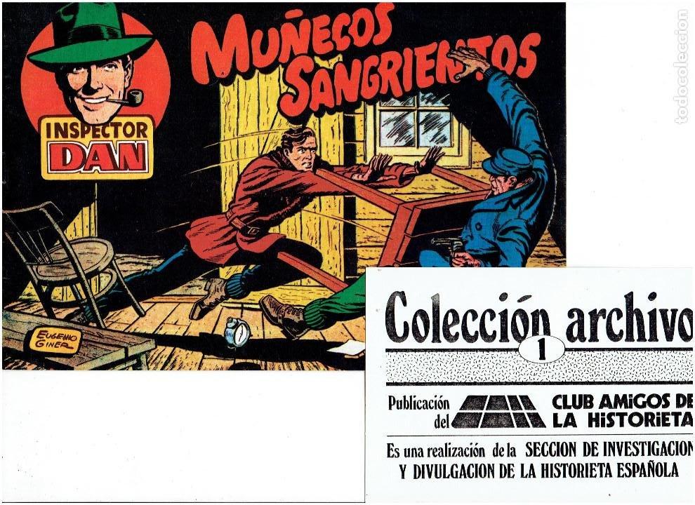 Tebeos: * COLECCION ARCHIVO C.A.H. * COMPLETA 1ª SERIE 18 NUMEROS * REEDICION IMPECABLE * - Foto 3 - 254200185