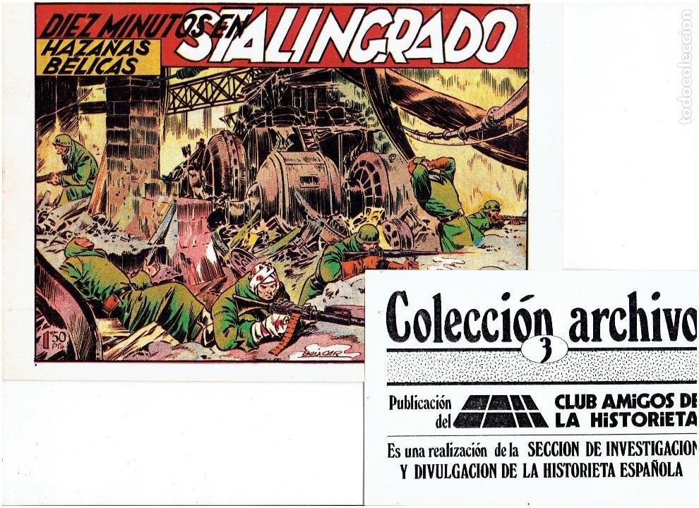 Tebeos: * COLECCION ARCHIVO C.A.H. * COMPLETA 1ª SERIE 18 NUMEROS * REEDICION IMPECABLE * - Foto 5 - 254200185
