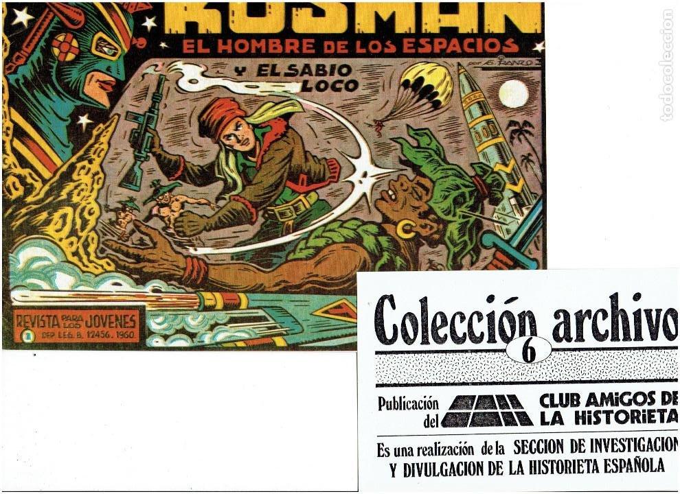 Tebeos: * COLECCION ARCHIVO C.A.H. * COMPLETA 1ª SERIE 18 NUMEROS * REEDICION IMPECABLE * - Foto 8 - 254200185