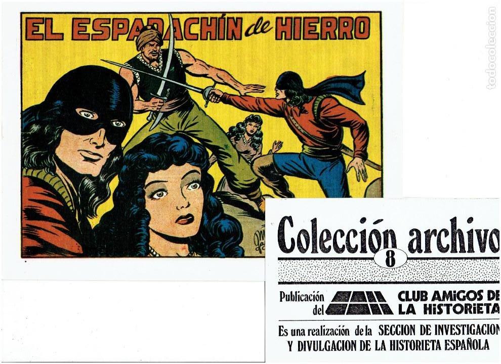 Tebeos: * COLECCION ARCHIVO C.A.H. * COMPLETA 1ª SERIE 18 NUMEROS * REEDICION IMPECABLE * - Foto 10 - 254200185