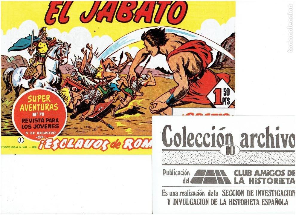 Tebeos: * COLECCION ARCHIVO C.A.H. * COMPLETA 1ª SERIE 18 NUMEROS * REEDICION IMPECABLE * - Foto 12 - 254200185