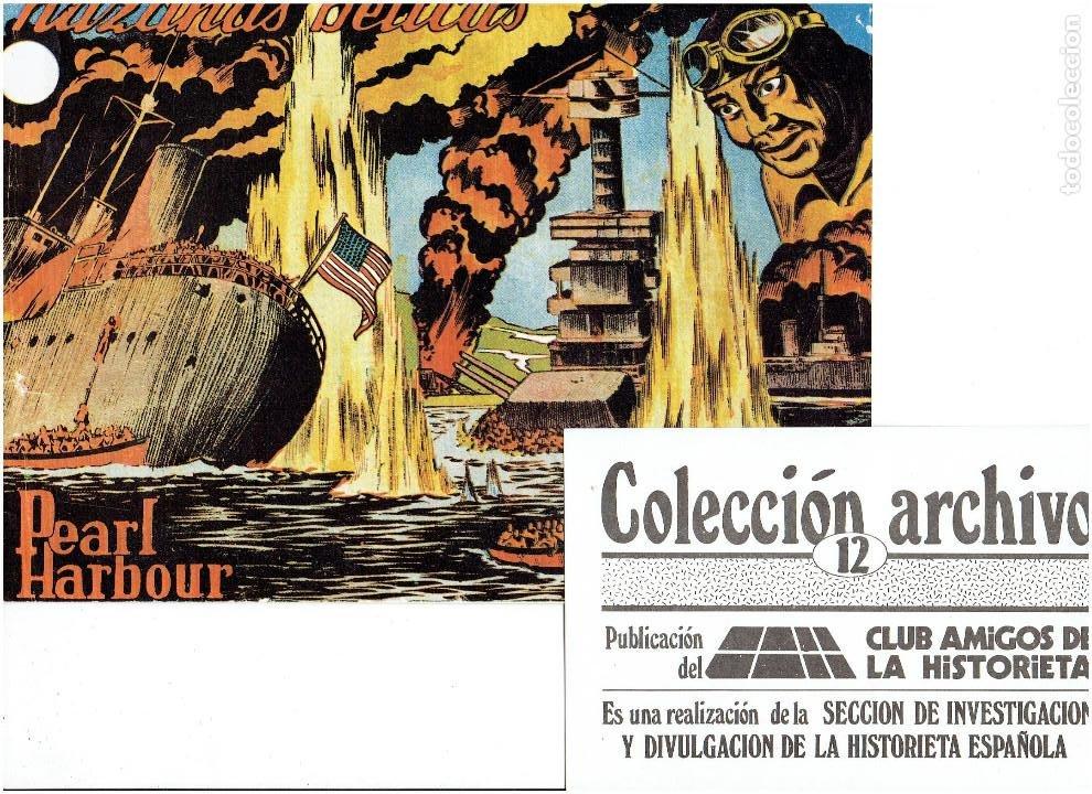 Tebeos: * COLECCION ARCHIVO C.A.H. * COMPLETA 1ª SERIE 18 NUMEROS * REEDICION IMPECABLE * - Foto 14 - 254200185