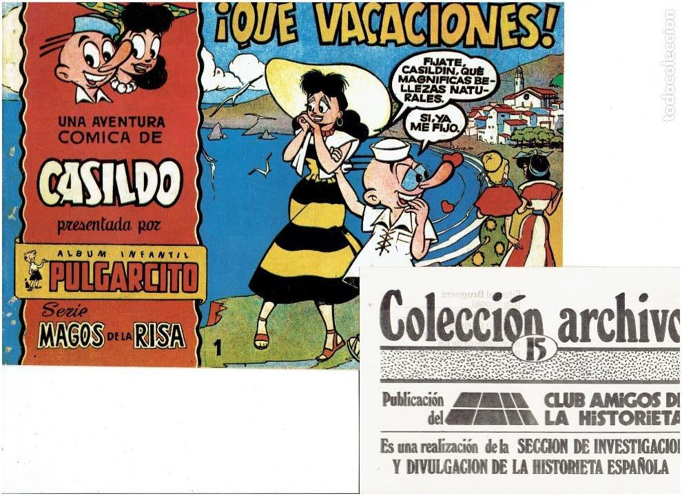 Tebeos: * COLECCION ARCHIVO C.A.H. * COMPLETA 1ª SERIE 18 NUMEROS * REEDICION IMPECABLE * - Foto 17 - 254200185