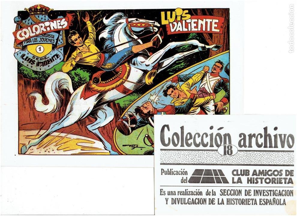 Tebeos: * COLECCION ARCHIVO C.A.H. * COMPLETA 1ª SERIE 18 NUMEROS * REEDICION IMPECABLE * - Foto 20 - 254200185