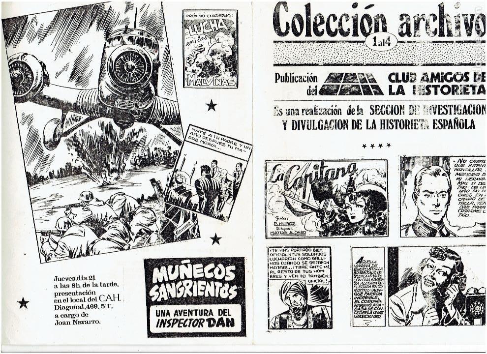 Tebeos: * COLECCION ARCHIVO C.A.H. * COMPLETA 1ª SERIE 18 NUMEROS * REEDICION IMPECABLE * - Foto 22 - 254200185