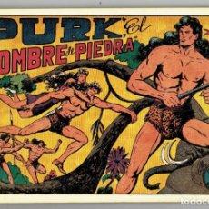 Tebeos: PURK EL HOMBRE DE PIEDRA TOMO 1 (M. GAGO) CONTIENE 8 EJEMPLARES (REEDICIÓN). Lote 254595825
