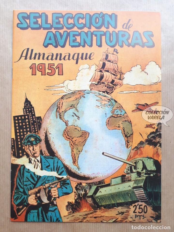 SELECCIÓN DE AVENTURAS - ALMANAQUE 1951 - REEDICIÓN (Tebeos y Comics - Tebeos Reediciones)