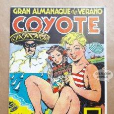 Tebeos: GRAN ALMANAQUE DE VERANO COYOTE - REEDICIÓN. Lote 257677530
